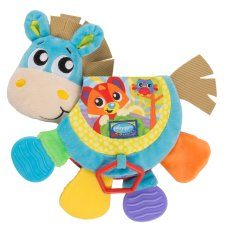 Playgro Teether Musical Clip Clop Teether Book